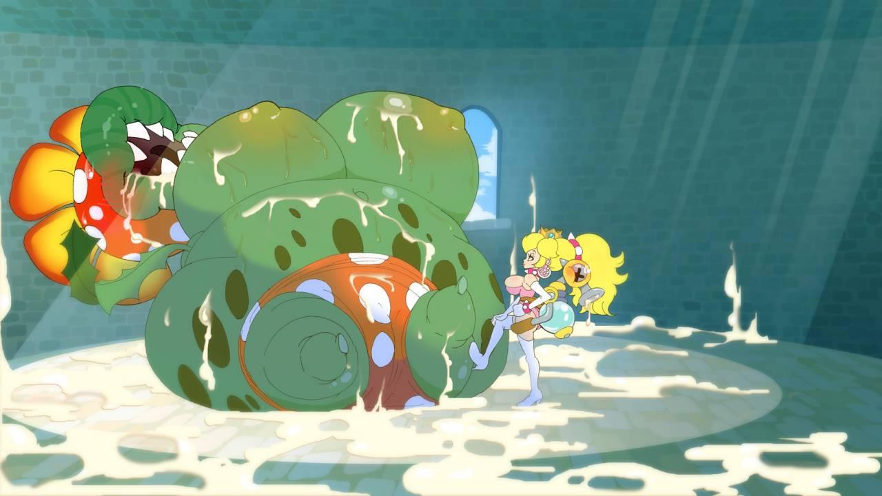 petey piranha+piranha plant+princess peach