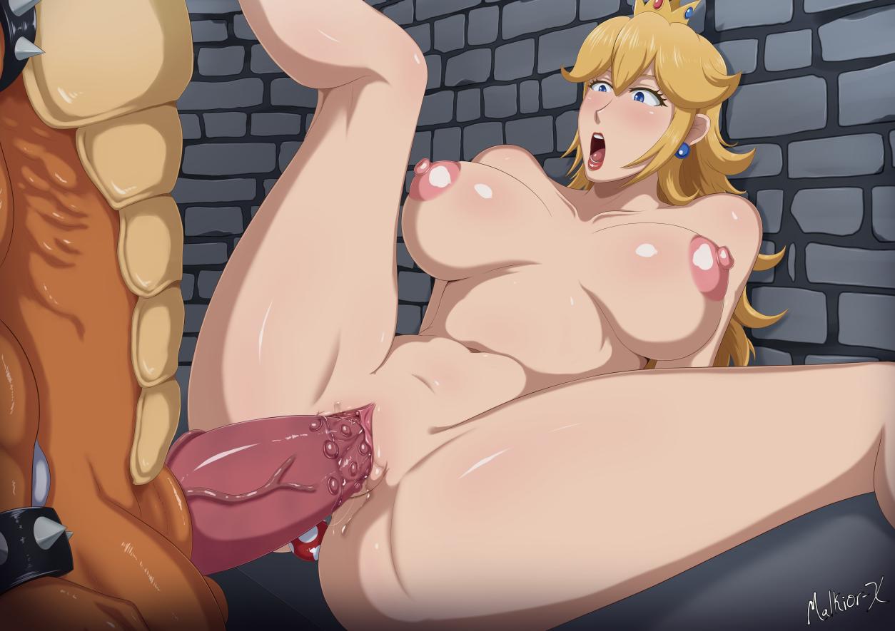bowser+koopa+princess peach